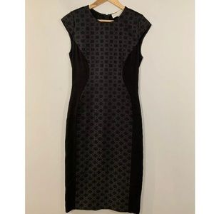 Stella McCartney Dress Black Milos Brocade Crepe